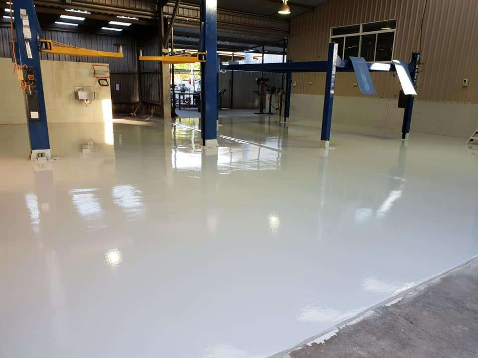 commercial Polished Concrete floors